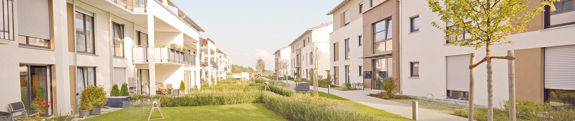 Wohnsiedlung Neubau