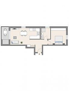 Haus C - Wohnung 3 - 1. OG