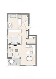 Haus C - Wohnung 4 - 1. OG