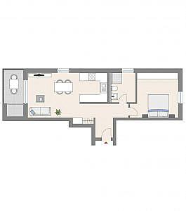 Haus C - Wohnung 6 - 2. OG