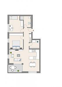 Haus C - Wohnung 7 - 2. OG