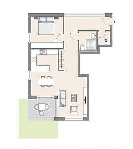 Haus D - Wohnung 10 - EG