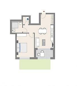 Haus D - Wohnung 11 - EG