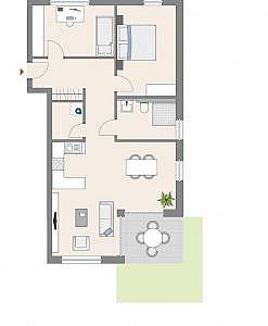 Haus D - Wohnung 12 - EG
