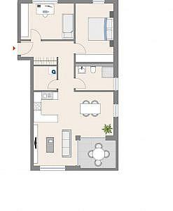 Haus D - Wohnung 15 - 1. OG