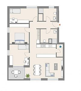 Haus D - Wohnung 16 - 2. OG