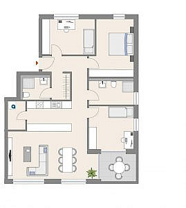 Haus D - Wohnung 17 - 2. OG