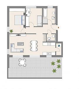 Haus D - Wohnung 18 - 3. OG