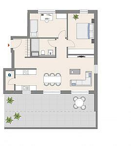 Haus D - Wohnung 19 - 3. OG