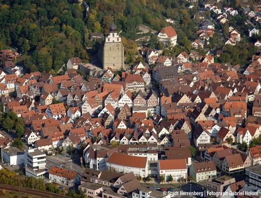 Luftbild-Herrenberg