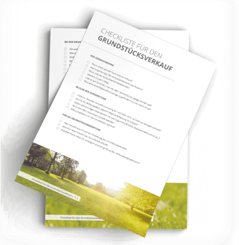 Checkliste Grundstücksverkauf