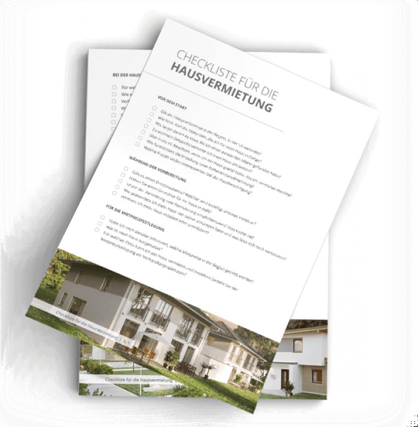 Checkliste Hausvermietung