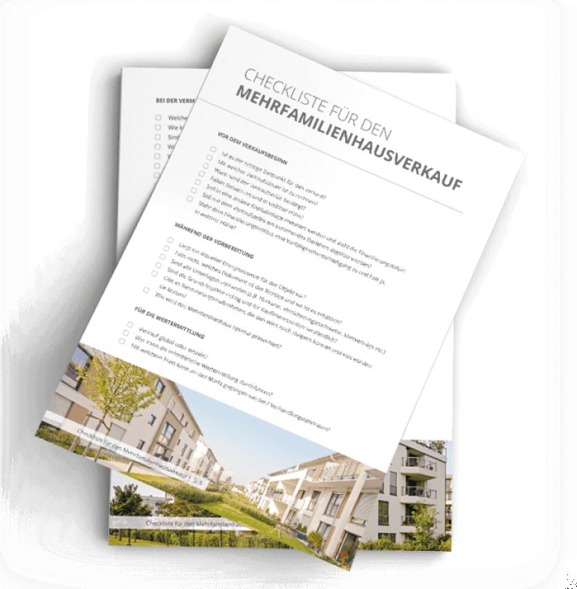Checkliste Mehrfamilienhausverkauf