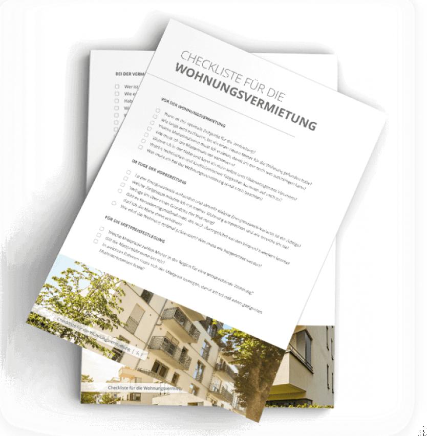 Checkliste Wohnungsvermietung